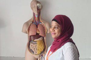 Image of nursing student at Morley College London